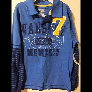 🍭Old Navy Long Sleeve Shirt Boy size Medium